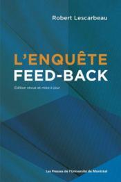 L'enquête feed-back - Couverture - Format classique