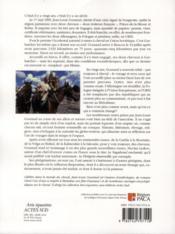 Le pérégrin émerveillé - 4ème de couverture - Format classique