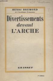 Divertissements Devant Larche. - Couverture - Format classique