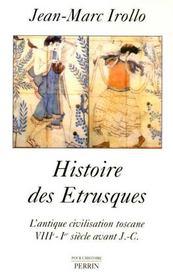 Histoire des etrusques l'antique civilisation toscane, viiie-ier siecle av. j.c. - Intérieur - Format classique