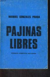 Pajinas Libres, Version Completa Revisada - Couverture - Format classique