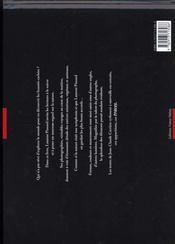Traces - 4ème de couverture - Format classique