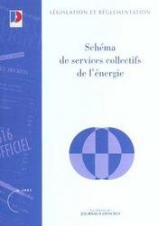 Schema de services collectifs de l'energie - Intérieur - Format classique