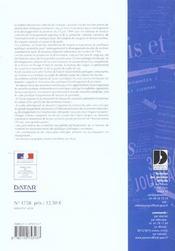 Schema de services collectifs de l'energie - 4ème de couverture - Format classique