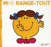 Madame Range-tout - Couverture - Format classique