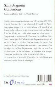 Confessions - 4ème de couverture - Format classique
