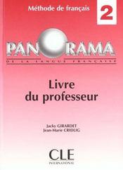 Panorama 2 de francaislivre du professeur - Intérieur - Format classique