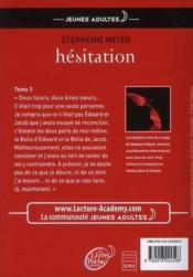 telecharger Twilight t.3 – hesitation livre PDF en ligne gratuit