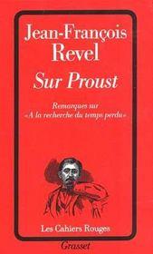 Sur Proust - Intérieur - Format classique