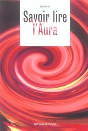 Savoir Lire L'Aura - Intérieur - Format classique