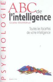 Abc de l'intelligence - Intérieur - Format classique