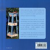ASTUCES RECUP' DU BORD DE MER. 10 créations à bricoler soi-même - 4ème de couverture - Format classique