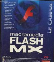 Macromedia Flash Mx - Couverture - Format classique