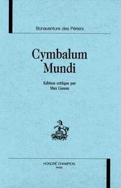 Cymbalum Mundi - Intérieur - Format classique
