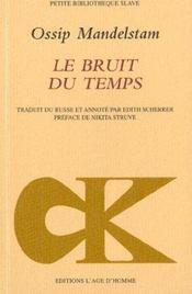 Bruit Du Temps (Le) - Intérieur - Format classique