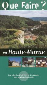 Que faire en Haute-Marne ? - Intérieur - Format classique