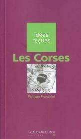 Les Corses - Intérieur - Format classique