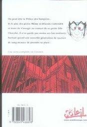 Don dracula t.2 - 4ème de couverture - Format classique