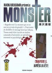 Monster t.5 ; après la fête - Intérieur - Format classique