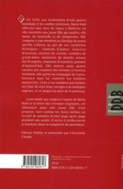 Almanach pour une jeune fille triste - 4ème de couverture - Format classique
