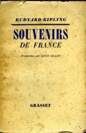 Souvenirs De France. - Couverture - Format classique
