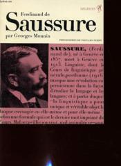 Ferdinand De Saussure - Couverture - Format classique