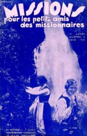 MISSIONS POUR LES PETITS AMIS DES MISSIONNAIRES, 4e ANNEE, N° 6, JUIN 1936 - Couverture - Format classique