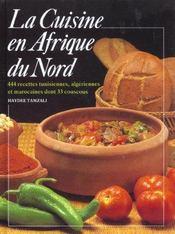 La cuisine d'afrique du nord - Intérieur - Format classique