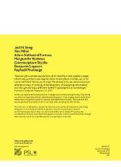 OBLIQUITE N.1 ; paradigm - 4ème de couverture - Format classique