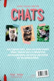 Agenda scolaire ; chats (édition 2018/2019) - 4ème de couverture - Format classique
