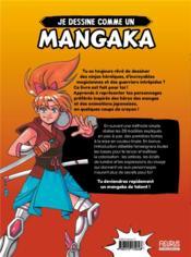 Je dessine comme un mangaka - 4ème de couverture - Format classique
