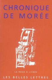 Chronique de moree - Intérieur - Format classique