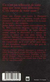 Le Voyage Avec Les Morts - 4ème de couverture - Format classique