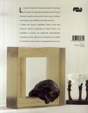 Antoine leperlier ; la métaphysique du verre - 4ème de couverture - Format classique