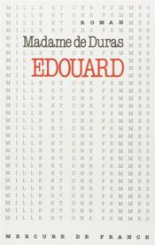 Edouard - Couverture - Format classique