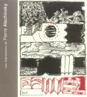 Les impressions d'Alechinsky - Couverture - Format classique