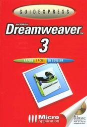 Guidexpress dreamweaver 3 - Intérieur - Format classique