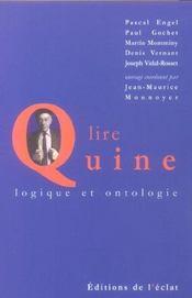 Lire Quine - Intérieur - Format classique