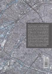 Paris nord-est - 4ème de couverture - Format classique