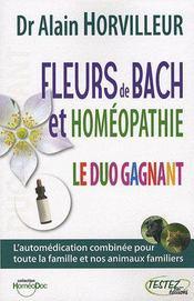 Fleurs De Bach Et Homeopathie - Testez Le Duo Gagnant - Intérieur - Format classique