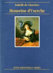 Honorine d'Userche - Couverture - Format classique