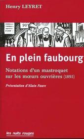 En Plein Faubourg - Intérieur - Format classique