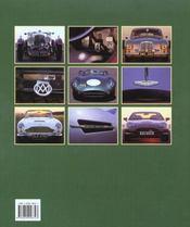 Aston Martin - 4ème de couverture - Format classique