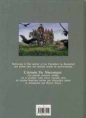 KAAMELOTT. L'Armée du Nécromant - 4ème de couverture - Format classique