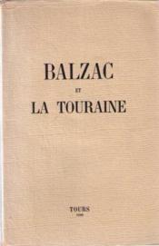 Balzac et la touraine - Couverture - Format classique