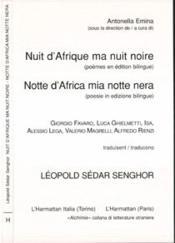 Nuit D'Afrique Ma Nuit Noire - Couverture - Format classique