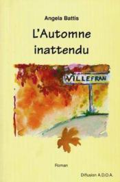 L'automne inattendu. roman - Couverture - Format classique