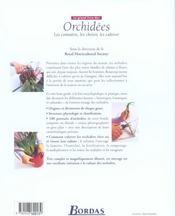 Le Grand Livre Des Orchidees - 4ème de couverture - Format classique