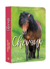 Agenda scolaire ; chevaux - Couverture - Format classique