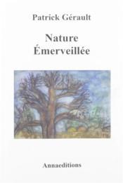 Nature émerveillée - Couverture - Format classique